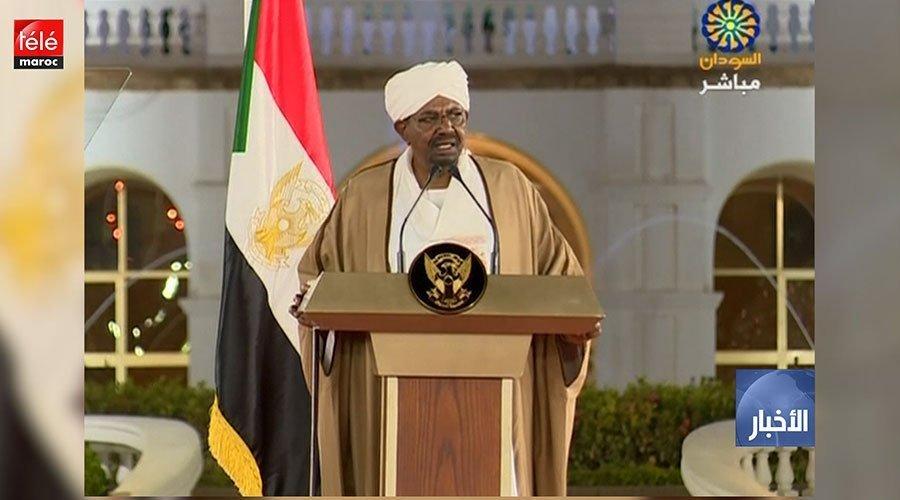 الرئيس السوداني يعلن حالة الطوارئ لمدة سنة ويحل الحكومة