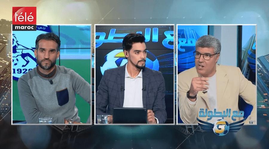مع البطولة : كأس محمد السادس للاندية البطلة ولقاءات الجولة 16