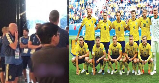 إخلاء فندق المنتخب السويدي بسبب إنذار كاذب