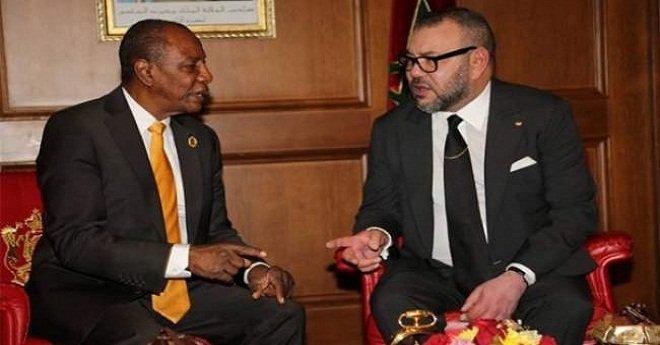 """رئيس الاتحاد الإفريقي يشيد بـ""""الالتزام الإفريقي"""" للملك محمد السادس"""