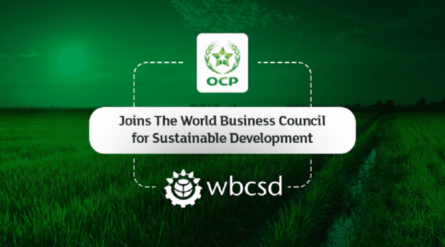 OCP تلتحق بالمجلس العالمي للمقاولات من أجل التنمية المستدامة