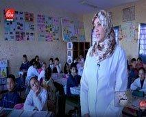 أمل أبو مسلم مربية أجيال سخرت التكنلوجيا لتحسين مستوى تكوين تلامذتها ومحاربة الهدر المدرسي
