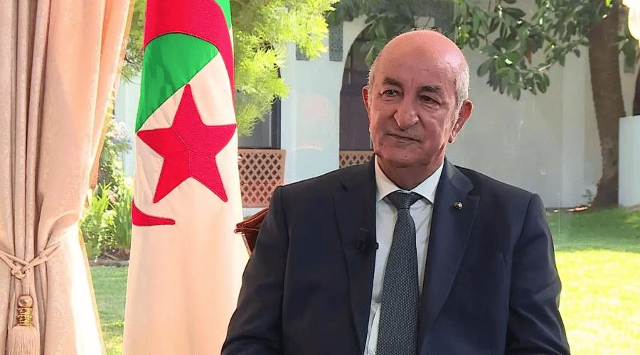 الرئيس الجزائري تبون يدخل الحجر الصحي بسبب أعراض كورونا