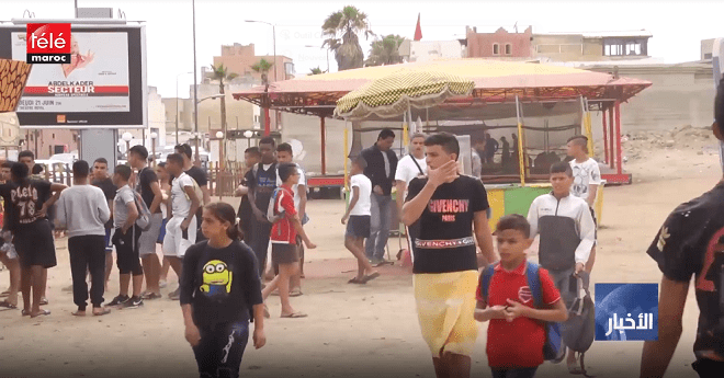 فيديو .. عدم قانونية فضاء للألعاب بعين السبع يثير استياء سكان ومسؤلي المنطقة