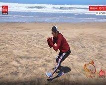 حركات بسيطة لتمرين الأرجل مع كلثوم أضمير