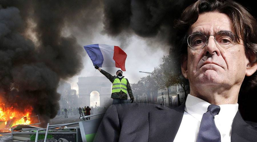 """وزير فرنسي سابق يدعو لإطلاق النار على محتجي """"السترات الصفراء"""""""