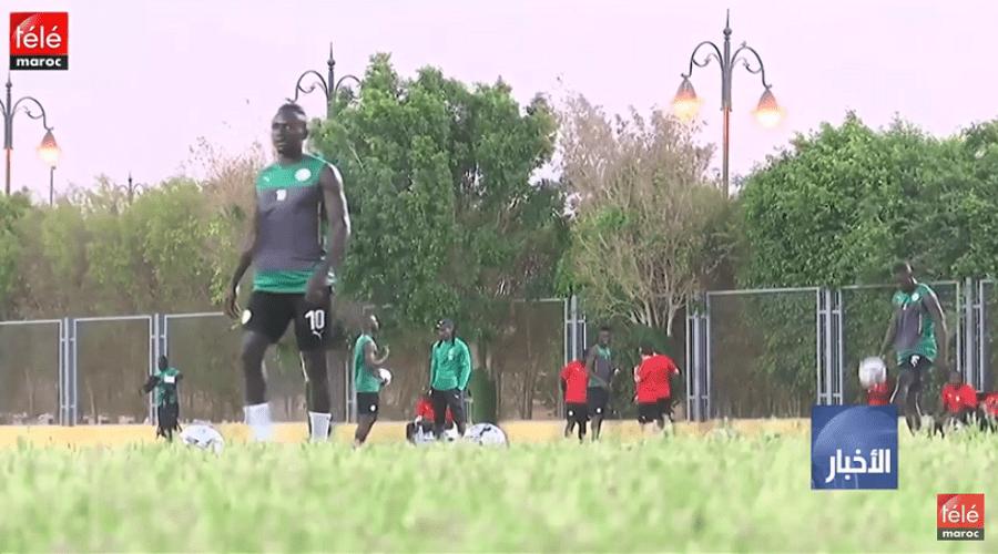 المنتخبان الجزائري والسنغالي يخوضان آخر إستعداداتهما للنهائي المترقب