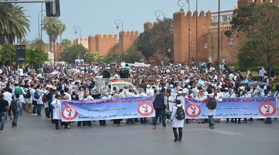 الأساتذة يعودون للاحتجاجات الصيفية