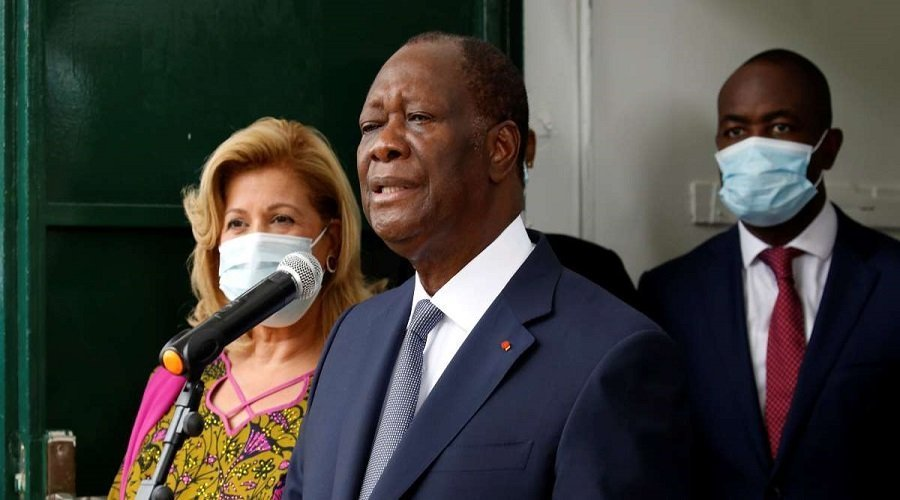 إعادة انتخاب الرئيس الحسن واتارا لولاية ثالثة في كوت ديفوار