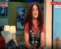بشرى وريد بييرسائقة الهارلي:  حملت راية المغرب برحلة أبيدجان- الرباط مرورا بالصحراء المغربية