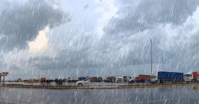توقعات أحوال الطقس اليوم الاثنين.. زخات عاصفية وتساقطات ثلجية
