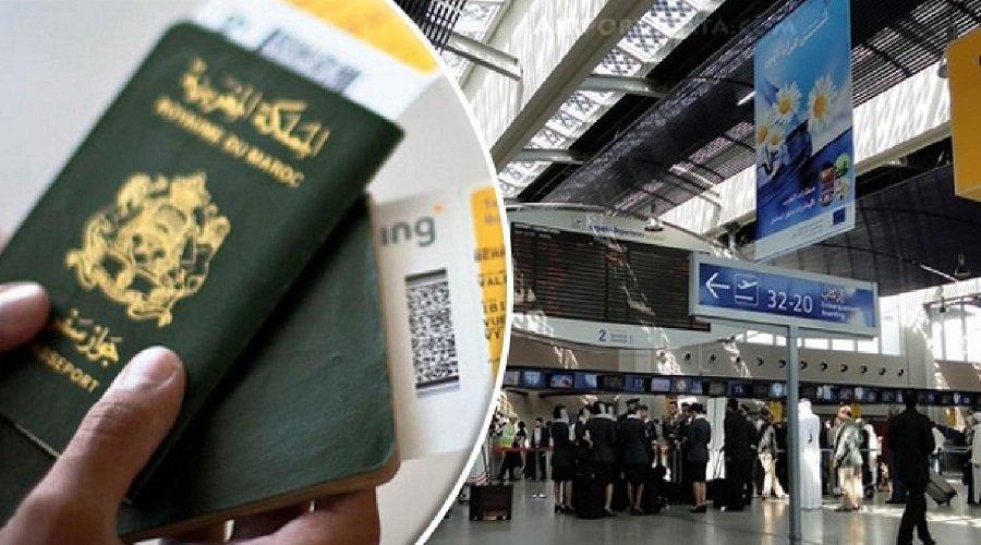 افتتاح منطقة خاصة بمراقبة الجوازات المغربية بمطار محمد الخامس