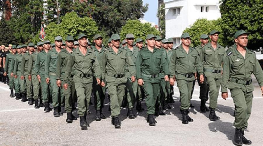 15 ألف مجند يلتحقون بالخدمة العسكرية غدا الإثنين