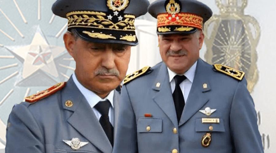 هذه لائحة الجنرالات والكولونيلات المحالين على التقاعد بجهازي الجيش والدرك