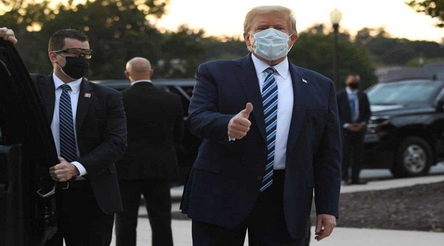 ترامب يغادر المستشفى ويدعو لعدم الخوف من كورونا