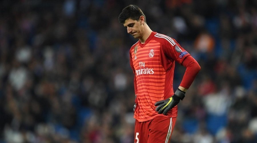 بعد تعرضه لانتقادات كثيرة.. كورتوا يغيب عن صفوف ريال مدريد