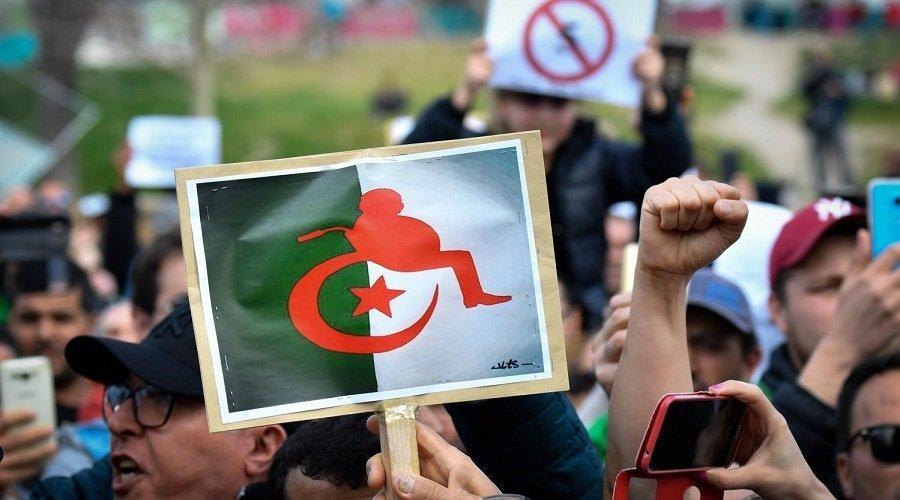 نتيجة بحث الصور عن احتجاجات الجزائر
