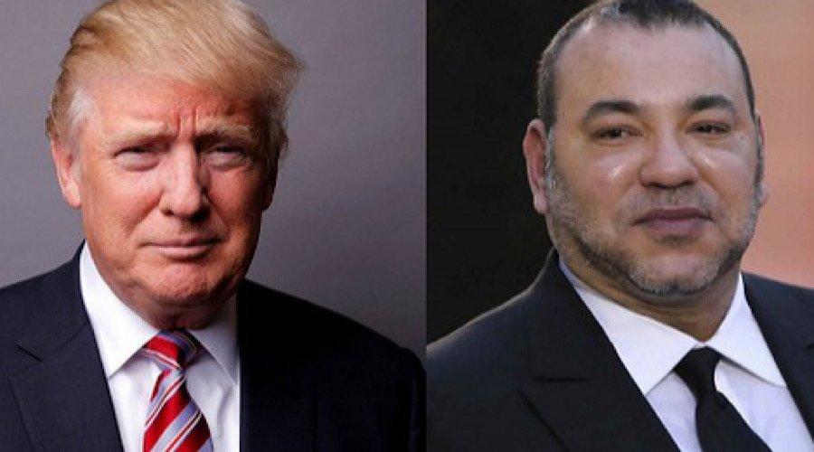 اتصال هاتفي بين الملك وترامب وأمريكا تعترف رسميا بسيادة المغرب على صحرائه