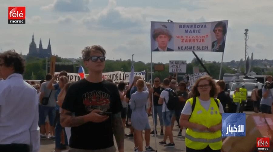 الجمهورية التشيكية: أضخم مظاهرة منذ 1989 للمطالبة برحيل رئيس الوزراء