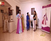 أزياء:  سنكتشف  اخر إبتكارات الخياطة التقليدية، أثواب فاطمة الزهراء و جديد تشكيلات عليش للمجوهرات