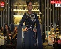 سميرة حدوشي، تقدم عرض أزياء تحت شعار المرأة المحاربة.