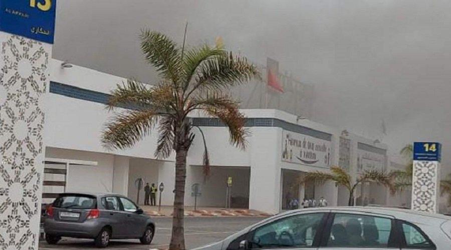 مرجان يكشف حصيلة خسائر حريق مركزه بحي الرياض