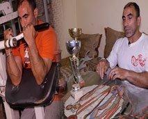 """في بيتنا بطل: """"محمد أوزين"""" اليد الحديدية المفعمة بالأمل"""