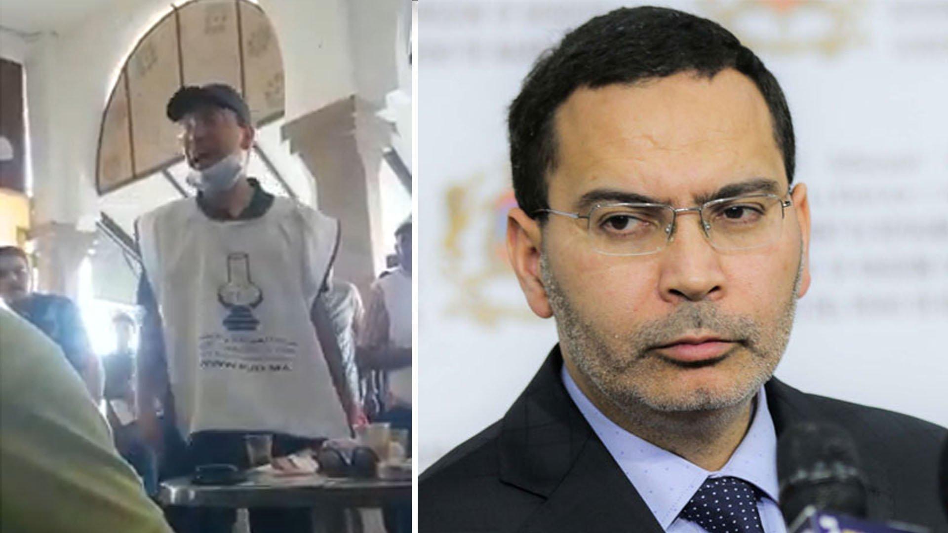 شباب سيدي بنور ينتفضون في وجه الخلفي بعد غيابه 5 سنوات عن الإقليم