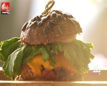 بلا غلوتين : همبرغر بخبز صحي ومكونات غنية بالفيتامينات