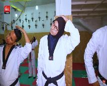 اكتشفوا أسرار رياضة التايكواندو مع البطلة فاطمة الزهراء أبو فارس
