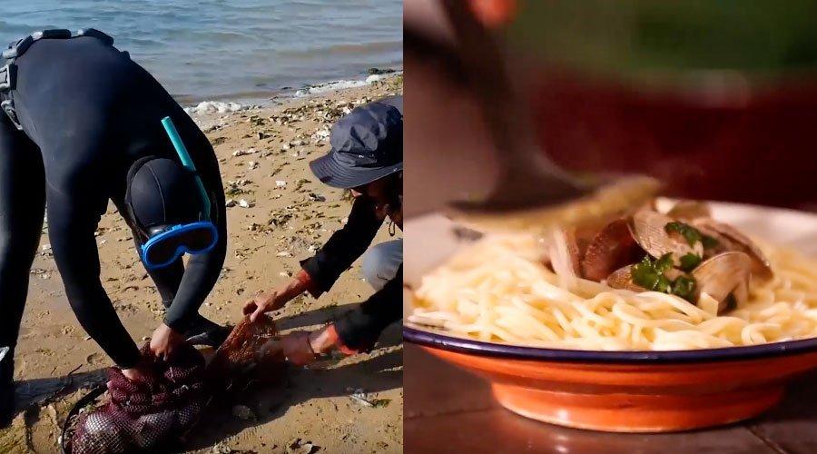 معاك الرايس يعلمك طريقة صيد وطهي سمكة اللميعة