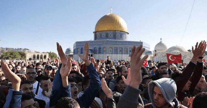 """""""يوم غضب"""" فلسطيني بعد """"قرار القدس"""""""