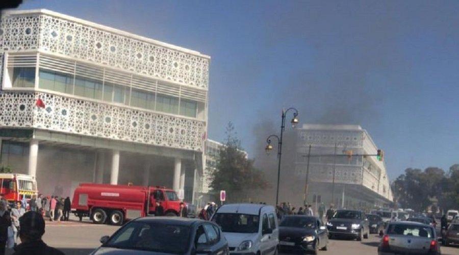 حريق المركز التجاري الرباط سانتر... هذا تفسير ما حدث