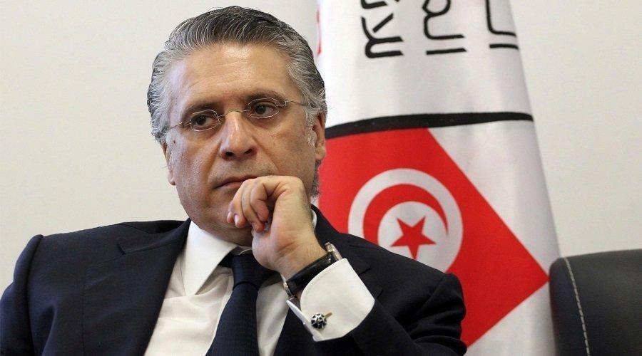 """الحكم بالسجن على رئيس حزب """"قلب تونس"""" بتهمة الفساد المالي"""