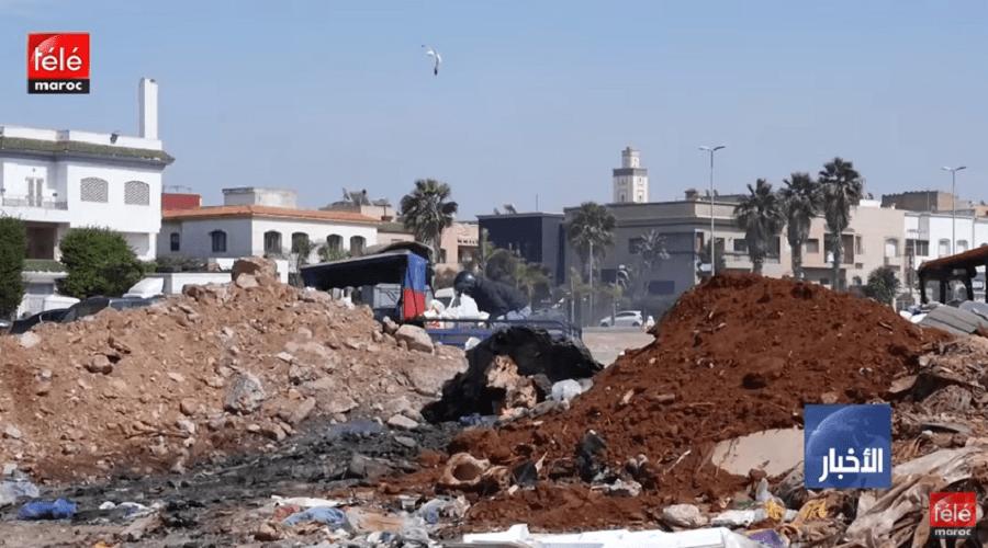 مخلفات مواد البناء تعمق إشكالية النفايات بالدار البيضاء