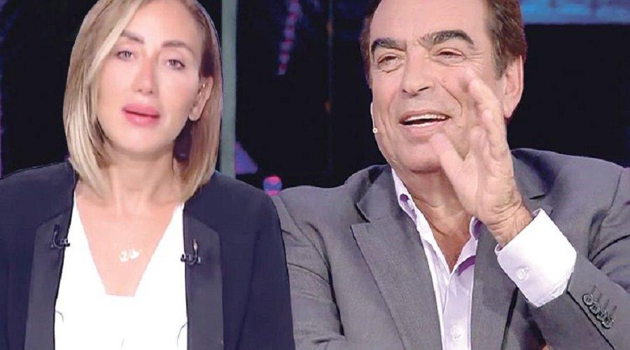 مغربي يشعل حربا بين جورج قرداحي وريهام سعيد