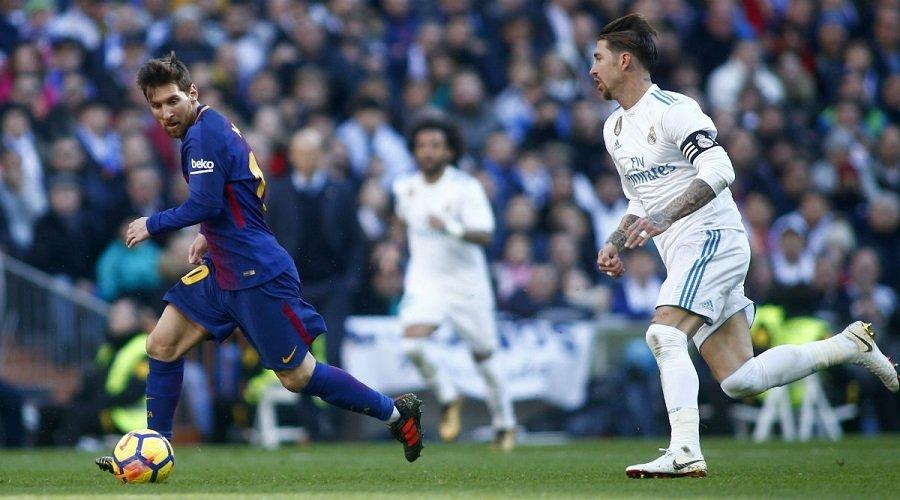برشلونة في مواجهة ريال مدريد في نصف نهائي كأس إسبانيا