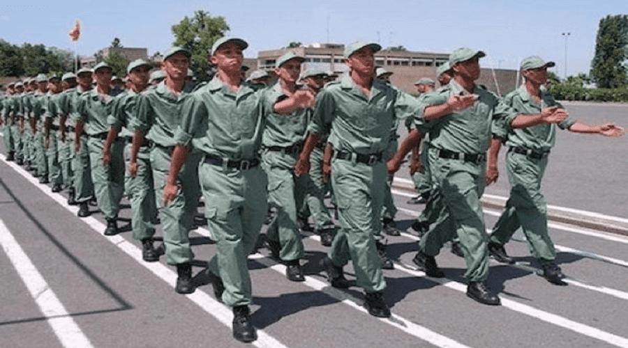 القاعدة الجوية بالقنيطرة تستقبل الفوج الأول من المدعوين للخدمة العسكرية
