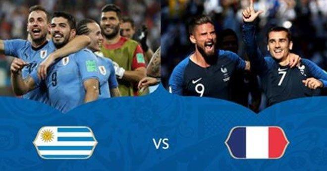 مباراة ربع نهائي المونديال.. التشكيلة الرسمية لمنتخبي الأوروغواي وفرنسا