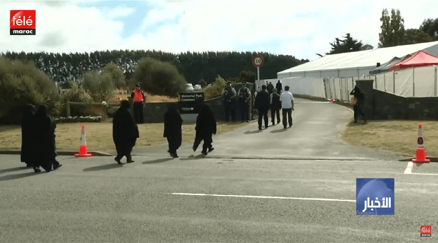 بدء مراسم دفن ضحايا اعتداء كرايستشيرش وسط إجرائات أمنية مشددة