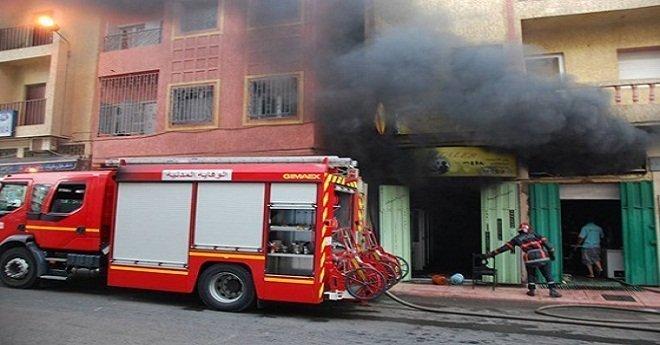 بالفيديو: وفاة طفلة وإصابة اثنين من أسرة واحدة في حريق بأحد احياء العاصمة الرباط