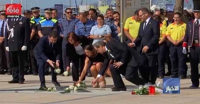كتالونيا ..  تدشين نصب تذكاري بكامبريلس أقيم تكريما لضحايا الاعتداءات الإرهابية