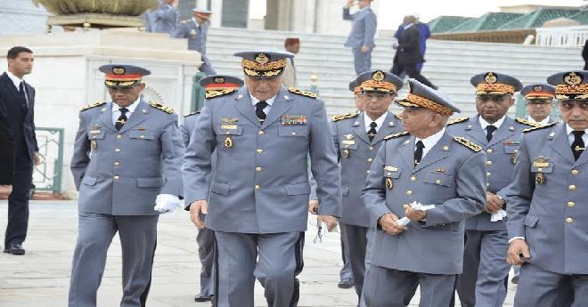 الجنرال حرمو يعلن عن التنقيلات والتعيينات لمسؤولين بجهاز الدرك الملكي