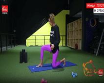 حركات رياضية لجمال للأرداف - مع كلثوم اضمير
