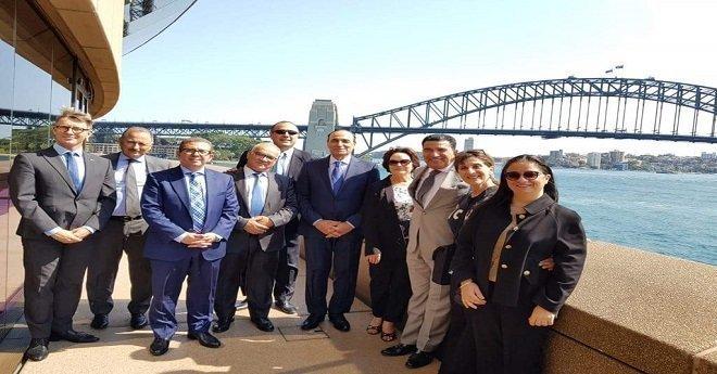 مجلس النواب في زيارة رسمية لأستراليا