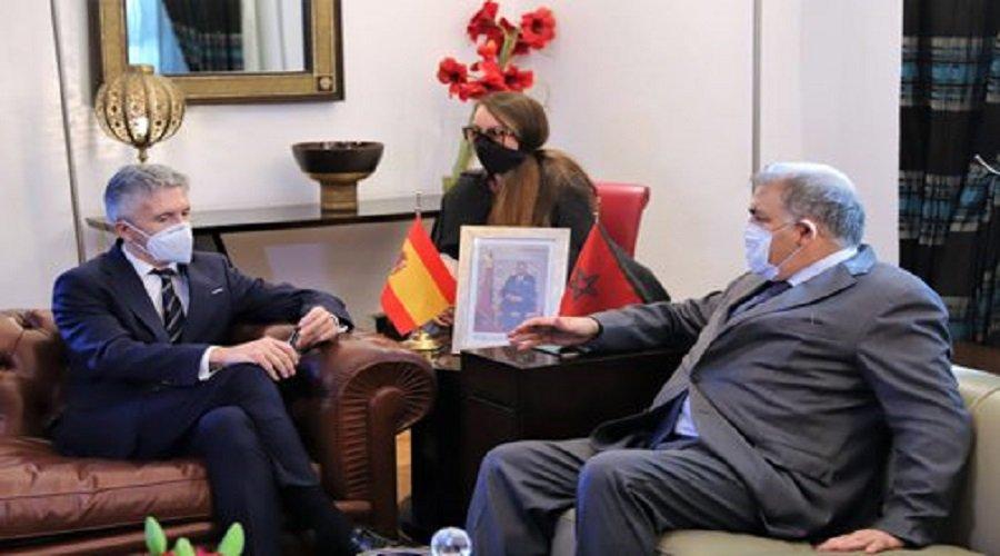 وزير الداخلية الإسباني: التنسيق مع المغرب في أفضل حالاته ويتسم بالثقة المتبادلة