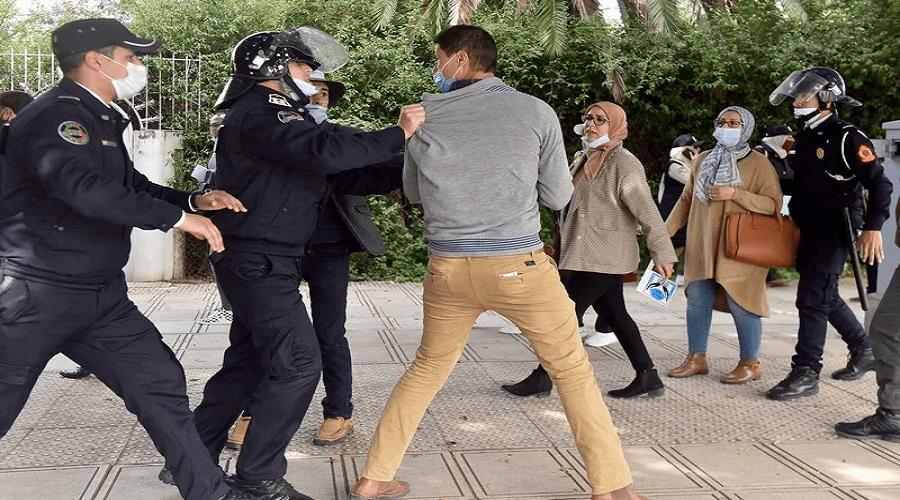 النيابة العامة تفتح تحقيقا في تعنيف الأساتذة من طرف شخص بزي مدني