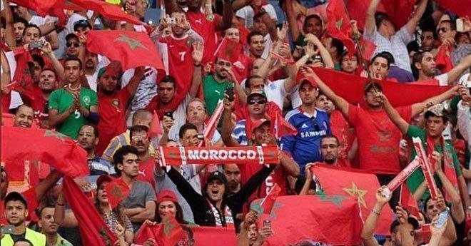الجمهور المغربي يحقق رقما قياسا بروسيا