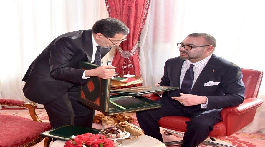 الملك يستفسر العثماني حول تفعيل توجيهات خطاب العرش