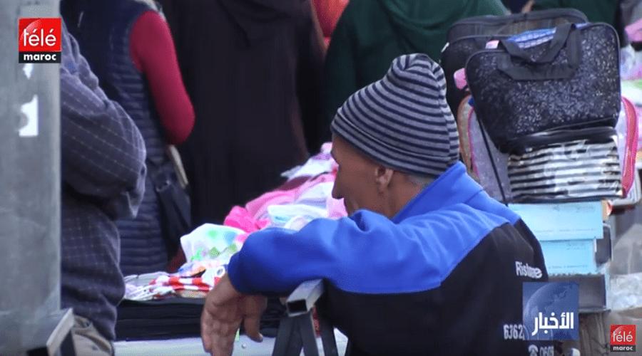 2be1446a6 تجار سوق درب عمر بالدار البيضاء مستاؤون من تغيير موقع السوق - تيلي ماروك